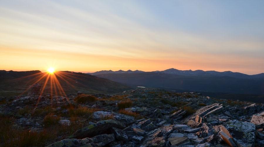 Sonnenuntergang // Rondane