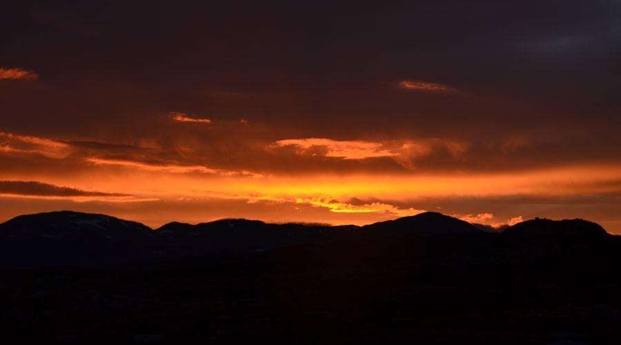 Sonnenuntergang // Børgefjell