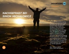 Ein Interview in Bildern – Mountains4U
