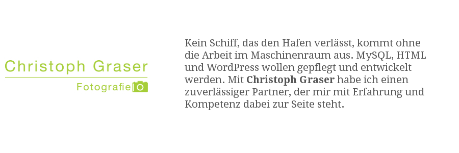 Christoph Graser Fotografie