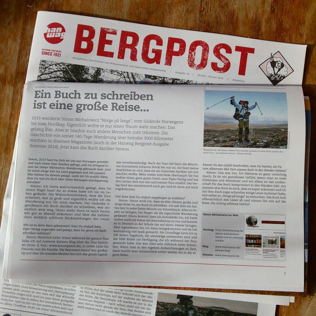 Hanwag Bergpost