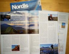 Outdoor Praxis im Nordis Magazin