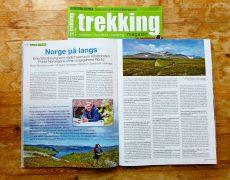 Unterwegs in Norwegens-Bilderbuchlandschaft – ein Interview im aktuellen Trekking-Magazin