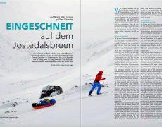 Eingeschneit auf dem Jostedalsbreen – neu im Nordis Magazin