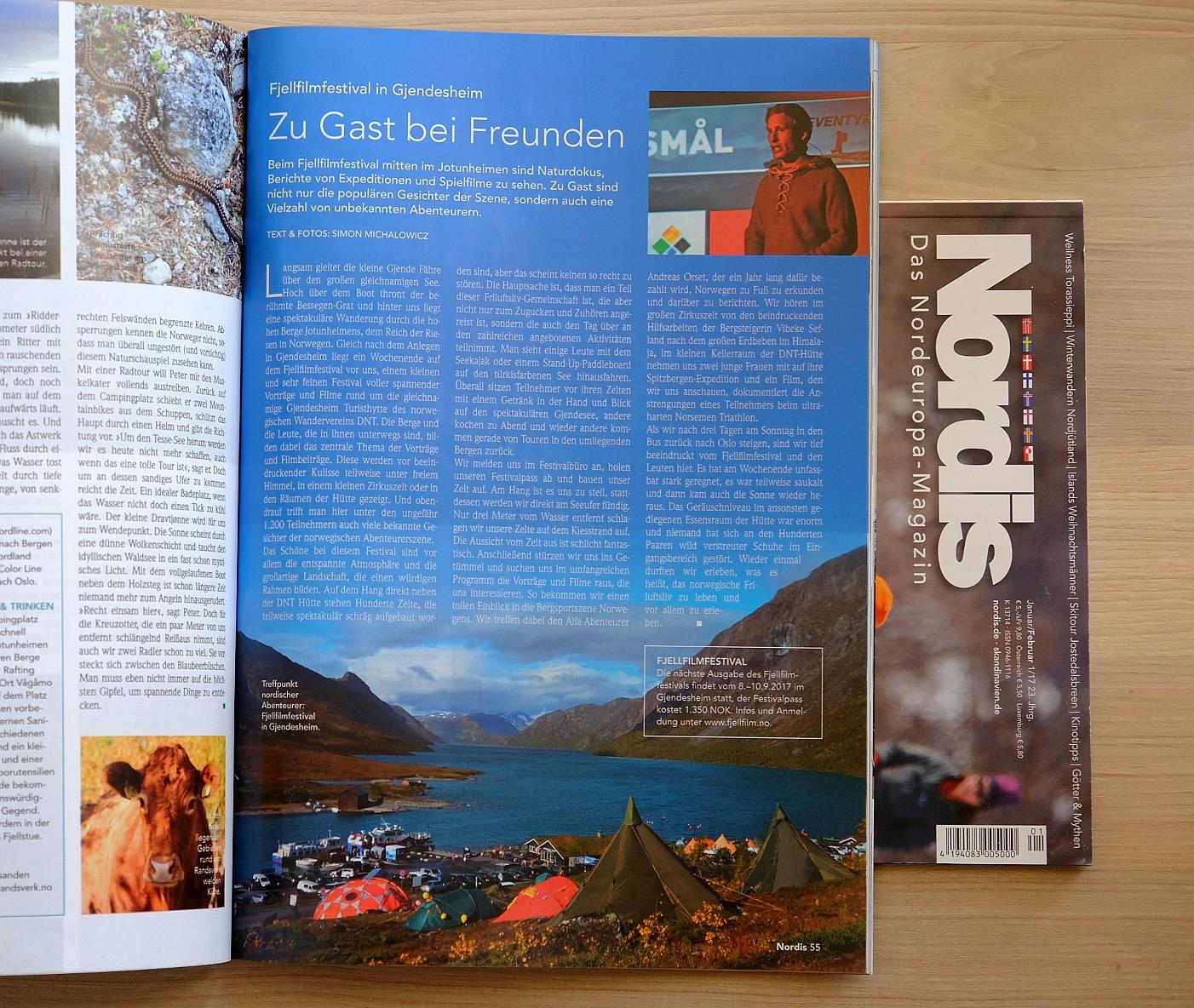 Zu Gast bei Freunden – das Fjellfilmfestival im Nordis Magazin