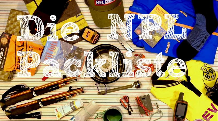 NPL-Packliste