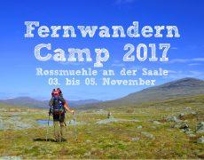 Fernwandern Camp 2017