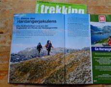 Der Eisplanet Hardangerjøkulen im Trekking Magazin