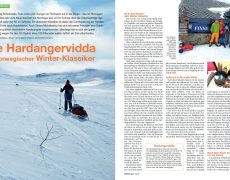Winterwandern zu Ostern in Norwegen im Trekking Magazin
